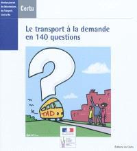 Le transport à la demande en 140 questions