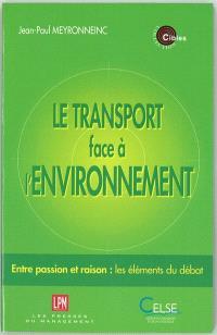 Le transport face à l'environnement