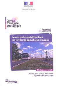 Les nouvelles mobilités dans les territoires périurbains et ruraux