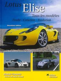 Lotus Elise : étude, création, évolution : tous les modèles