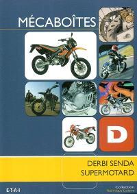 Mécaboîtes : Derbi Senda Supermotard
