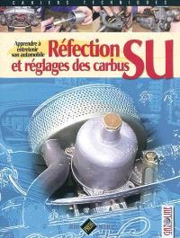 Réfection et réglages des carbus SU : apprendre à entretenir son automobile
