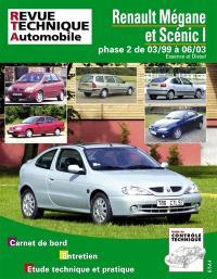 Renault Mégane et Scénic I phase 2 de 03-99 à 06-03 : essence et diesel