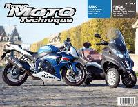Revue moto technique. n° 167, Piaggio MP3 500LT, Suzuki GSX-R1000