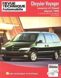 Revue technique automobile. n° TAP N 380.1, Chrysler Voyager essence et diesel après 96