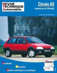 Revue technique automobile. n° 100.1, Citroën AX essence et diesel