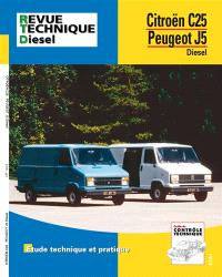 Revue technique automobile. n° 126.5, Citroën C 25 D et Peugeot J5 D