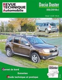 Revue technique automobile, Dacia Duster diesel 1.5 dCi 110 ch. (depuis 03-2010)