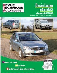 Revue technique automobile, Dacia Logan et break MCV depuis 06-2005 : essence 1.4 et 1.6 MPI et diesel 1.5 DCI