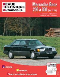 Revue technique automobile. n° 727.1, Mercedes 200 à 300 essence (85-92) et diesel (85-94)