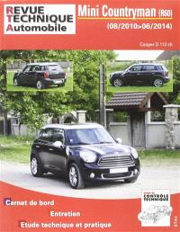 Revue technique automobile. n° B786, Mini Countryman, R60 : 08-2010, 06-2014 : Cooper D 112 ch.