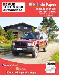 Revue technique automobile. n° TAP N 387, Mitsubishi Pajero (91 à 2000)