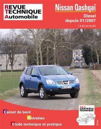 Revue technique automobile. n° B741, Nissan Qashquoi 01-2007 ess 2.0 + 2.0 DCI