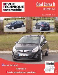 Revue technique automobile. n° B774, Opel Corsa 1.3 CTDI 75 CH