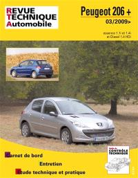 Revue technique automobile. n° B735, Peugeot 206 + 03-2009 ess + 1.4 HDI
