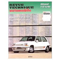 Revue technique automobile. n° 464.5, Renault 5 GT turbo (85-92)