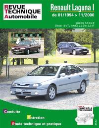Revue technique automobile. n° 123, Renault Laguna phase 1 et 2 es-diesel