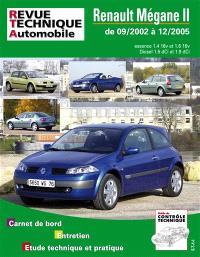 Revue technique automobile. n° 121, Renault Mégane 2 essence et diesel