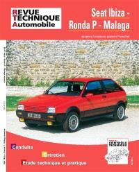 Revue technique automobile. n° 473.3, Seat Ibiza Ronda & Malaga essence 84-89