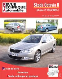 Revue technique automobile, Skoda Octavia II phase 2 : diesel 1.6 TDI 105 CR (depuis juin 2009)