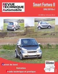 Revue technique automobile, Smart Fortwo II : 1.0i MHD et 1.0i turbo 85 ch : depuis septembre 2010