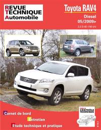 Revue technique automobile. n° B751, Toyota RAV 4 III D4-D (150) depuis 05-2009