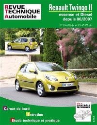 Revue technique automobile. n° B733, Twingo II 06-2007 ess 1.2 +1.5 DCI