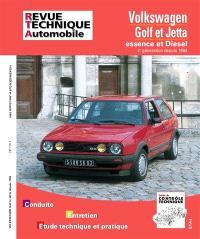 Revue technique automobile. n° 719.1, VW Golf et Jetta II E-D et TD (84-92)