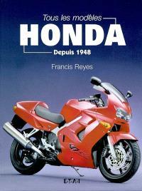 Tous les modèles Honda depuis 1946