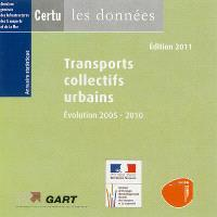 Transports collectifs urbains 2011 : évolution 2005-2010 : annuaire statistique (CD-ROM)
