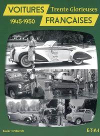 Voitures françaises 1945-1950