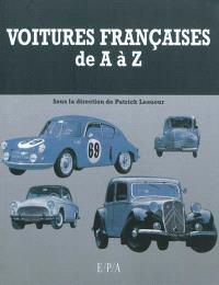 Voitures françaises de A à Z