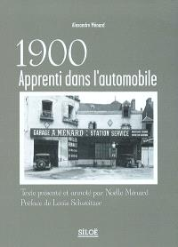 1900, apprenti dans l'automobile