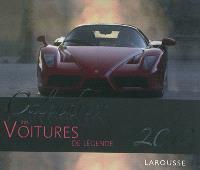 Calendrier 2012 des voitures de légende : 52 semaines pour vivre l'année 2012 sous le signe des voitures mythiques qui ont marqué l'histoire de l'automobile