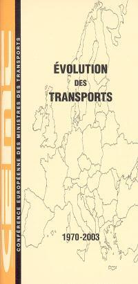 Evolution des transports : 1970-2003
