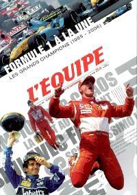 Formule 1 à la une : les grands champions (1985-2006)