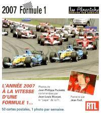 Formule 1, 2007 : l'année 2007 à la vitesse d'une formule 1...