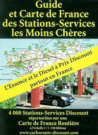 Guide et carte de France des stations-services les moins chères