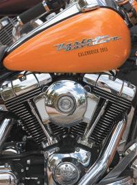 Harley Davidson : calendrier mural 2015