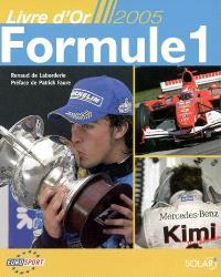 Le livre d'or de la formule 1, 2005