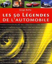 Les 50 légendes de l'automobile