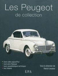 Les Peugeot de collection