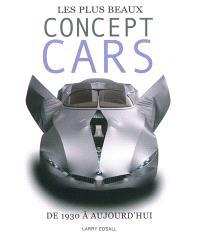 Les plus beaux concept cars : de 1930 à aujourd'hui