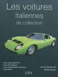 Les voitures italiennes de collection