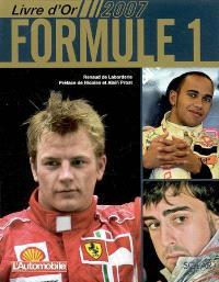 Livre d'or formule 1, 2007