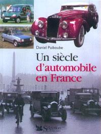 Un siècle d'automobile française