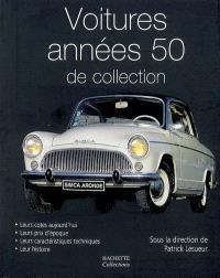 Voitures années 50 de collection