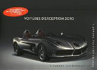 Voitures d'exception 2010 : l'agenda calendrier
