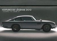 Voitures de légende 2012 : l'agenda-calendrier