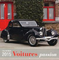 Voitures passion : calendrier 2015